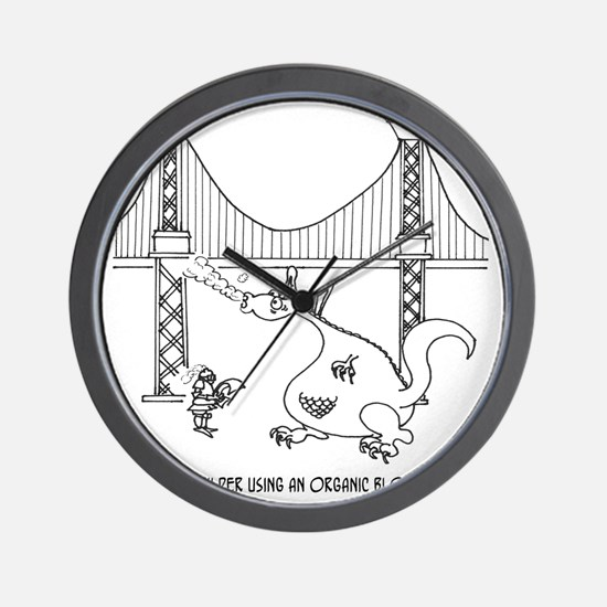 3697_welding_cartoon_FH Wall Clock