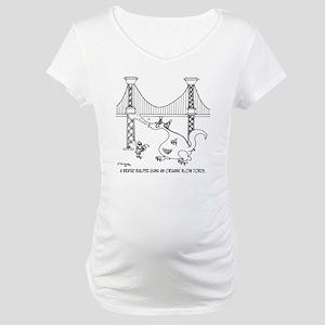 3697_welding_cartoon_FH Maternity T-Shirt