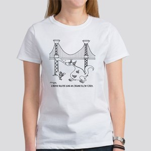 3697_welding_cartoon_FH Women's T-Shirt