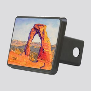 DelicateArch15x22AutoContU Rectangular Hitch Cover