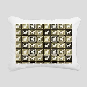 poodlesbag Rectangular Canvas Pillow