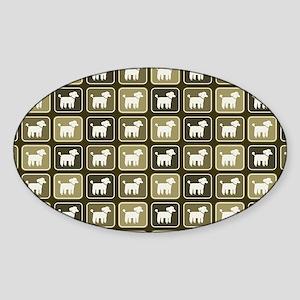 poodlesbag Sticker (Oval)