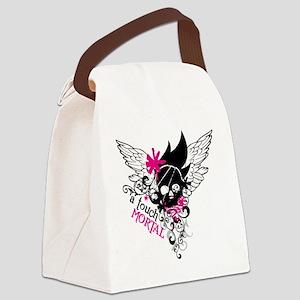 Mortal Skull Canvas Lunch Bag