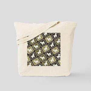 poodlepatternpillow2 Tote Bag