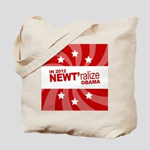 NEWTralize Red Button Tote Bag