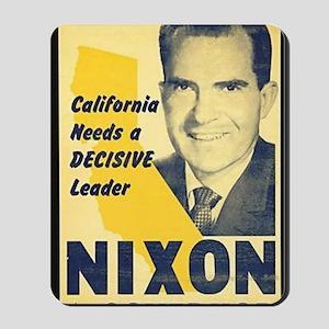 ART Nixon for Governor Mousepad