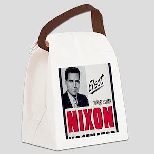 ART Nixon for Senate Canvas Lunch Bag