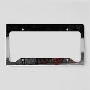 IMG_8670 redblue copy License Plate Holder
