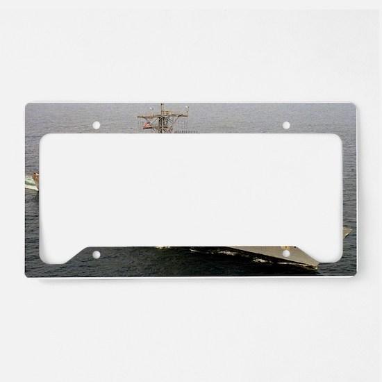 clark large framed print License Plate Holder