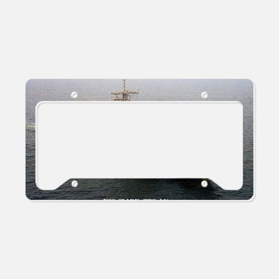 clark framed panel print License Plate Holder