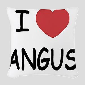ANGUS Woven Throw Pillow