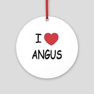 ANGUS Round Ornament