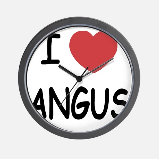 ANGUS Wall Clock