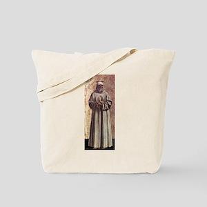 Saint Benedict - Piero della Francesca Tote Bag