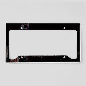 sfgate License Plate Holder