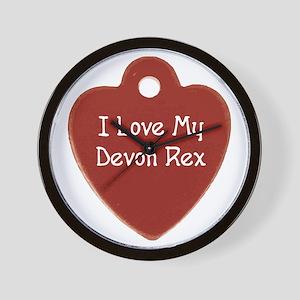 Love Rex Wall Clock
