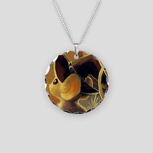Transformice Halloween 1 Necklace Circle Charm