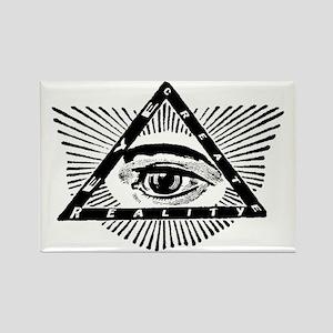 eye-create-reality Rectangle Magnet