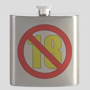 18-white Flask
