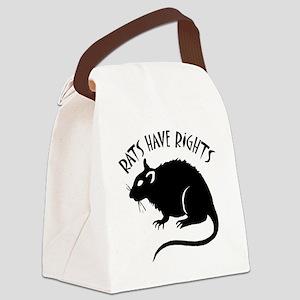 RatsHaveRights Canvas Lunch Bag