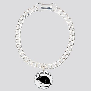 RatsHaveRights Charm Bracelet, One Charm
