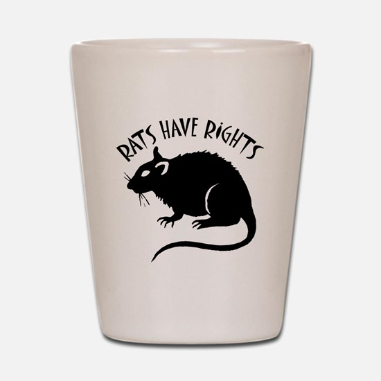 RatsHaveRights Shot Glass