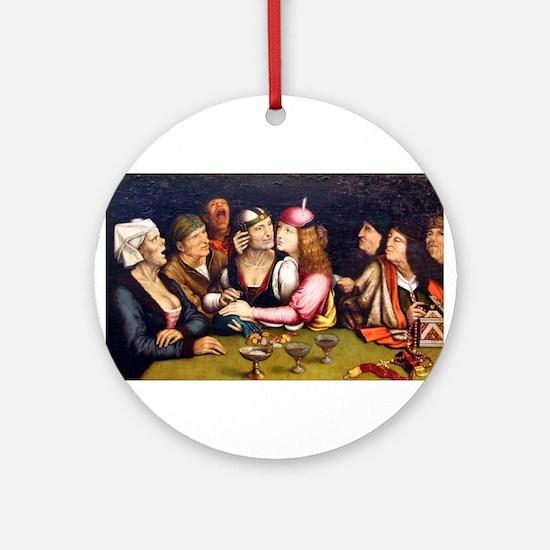 Unequal Marriage - Quinten Massys - c 1520 Round O