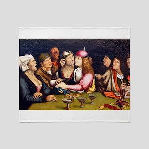 Unequal Marriage - Quinten Massys - c 1520 Throw B