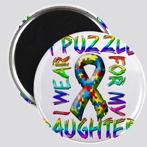 I Wear A Puzzle for my Daughter Magnet