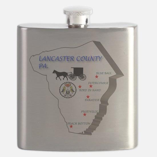 Lancaster county PA Flask