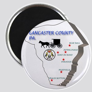 Lancaster county PA Magnet