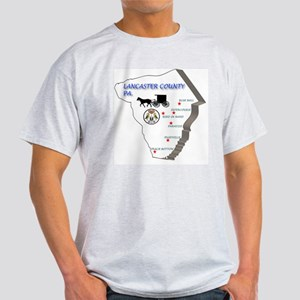 Lancaster county PA Light T-Shirt