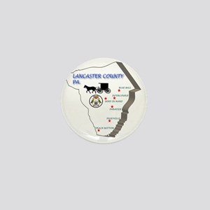 Lancaster county PA Mini Button