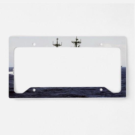 deyo large framed print License Plate Holder