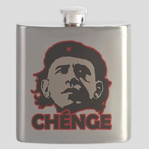 Che-Bama v4 Black Grey On Red Flask