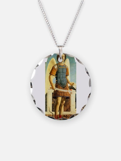 Saint Michael - Piero della Francesco Necklace