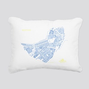 W-BR_BOS-MA_BL-WH_1 Rectangular Canvas Pillow