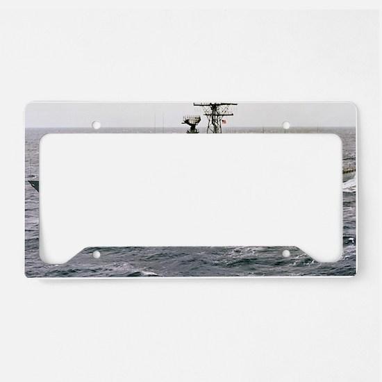 doyle framed panel print License Plate Holder