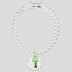 he_turns_me_on_3 Charm Bracelet, One Charm