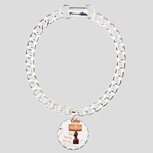 he_turns_me_on_5 Charm Bracelet, One Charm