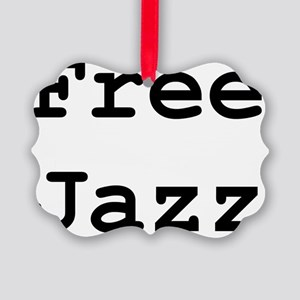 free-jazz Picture Ornament