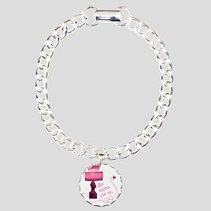 he_turns_2 Charm Bracelet, One Charm