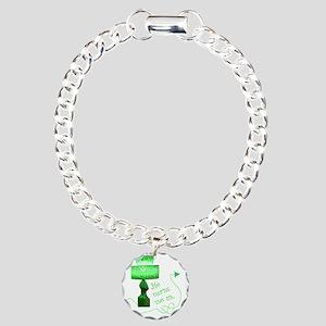 he_turns_1 Charm Bracelet, One Charm