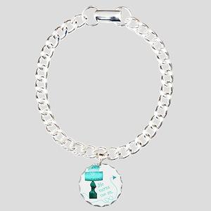he_turns_3 Charm Bracelet, One Charm