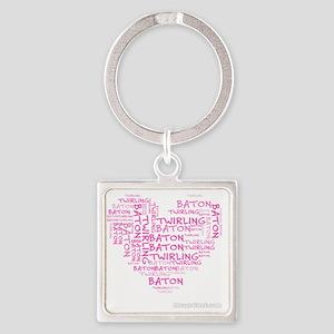 bt Square Keychain