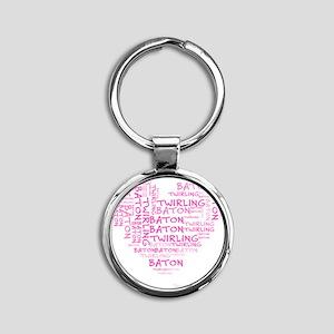 bt Round Keychain