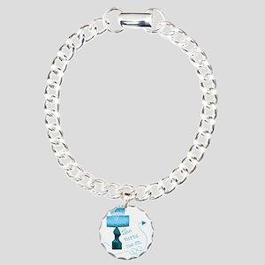 she_turns_me_on_2 Charm Bracelet, One Charm