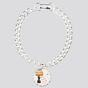 she_turns_me_on_5 Charm Bracelet, One Charm