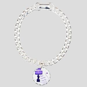 she_turns_me_on_3 Charm Bracelet, One Charm