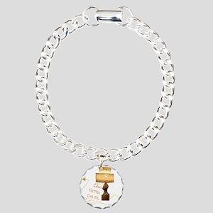 she_turns_1 Charm Bracelet, One Charm